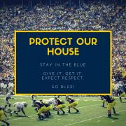 Stay in the blue and expect respect