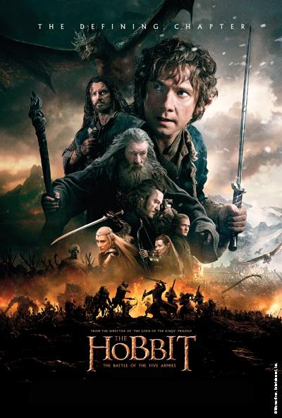 On Saturday March 14, check out a special screening of The Hobbit: The Battle of Five Armies!  The movie will show in Angell Hall Auditorium B at 7:00pm.  Doors open at 6:30pm.  Don't miss the epic conclusion to The Hobbit trilogy!